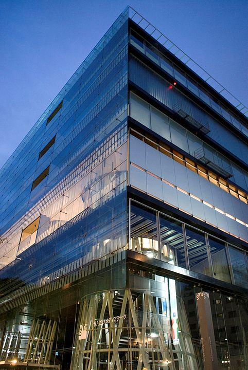 Mediateca di Sendai all'esterno