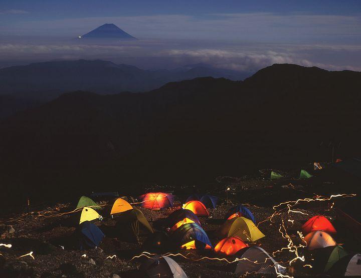 Il Fuji da lontano