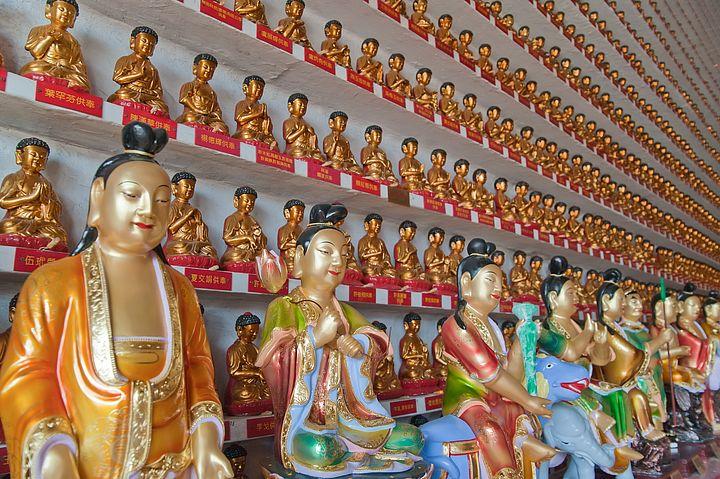 Tempio dei 10000 Buddha