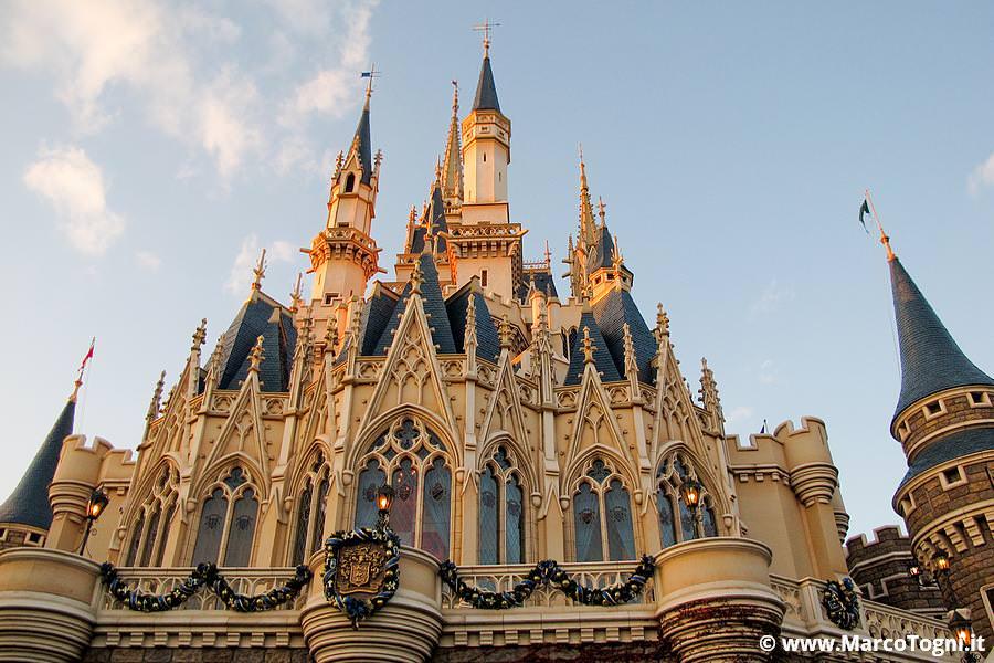 Il castello di Disney Land