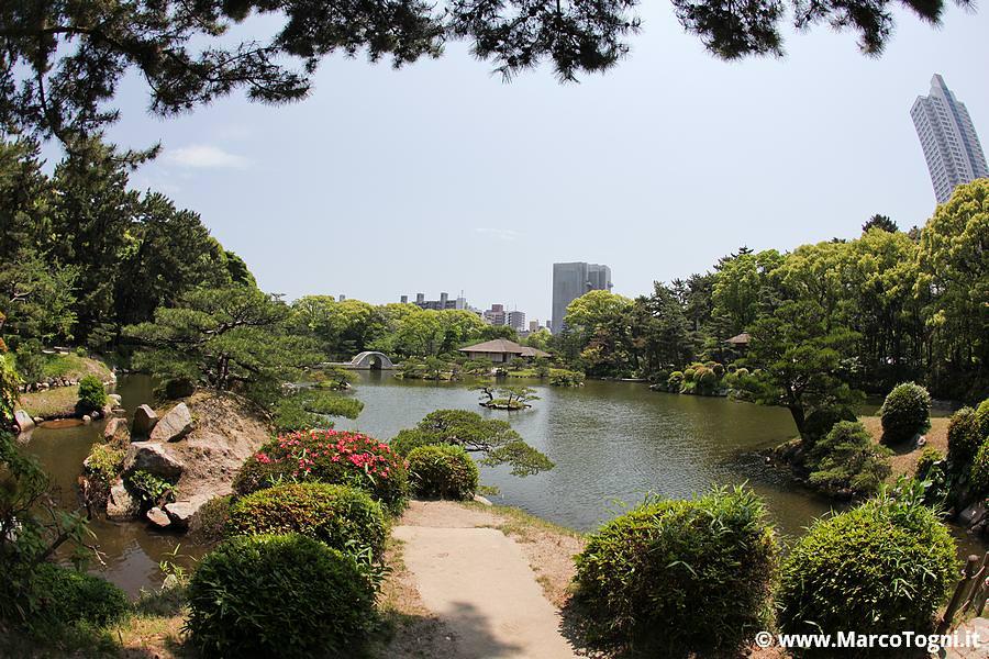 giardino giapponese ad Hiroshima